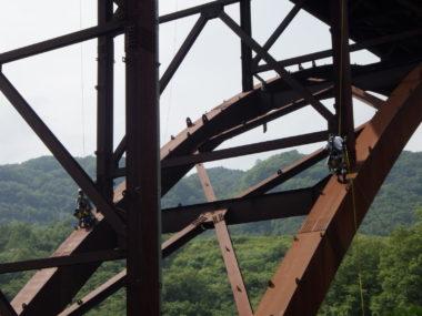 木曽管内道路橋定期点検2