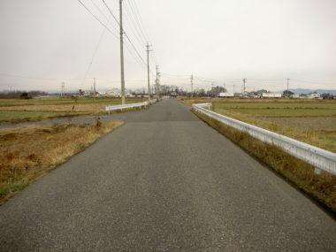 (一)土合松本線道路予備詳細詳細設計 施工前