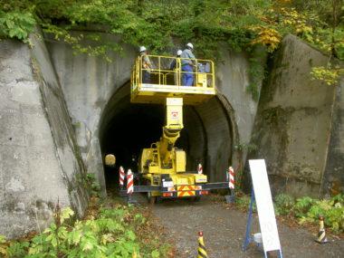 林道橋及びトンネル点検診断 点検診断2