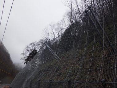 駒ヶ根駒ヶ岳公園線道路災害防除設計 施工後1
