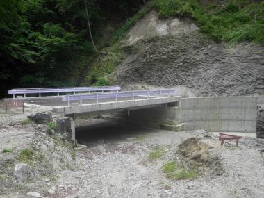 大島林道橋詳細設計 施工後1