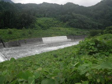 (一)姫川災害復旧設計 施工後