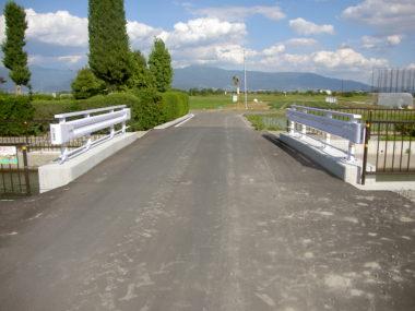 梓川106号橋改修に伴う箱型函渠工設計 施工後2