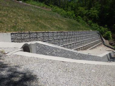 (一)上松南木曽線改良に伴う函渠工詳細設計 施工後2