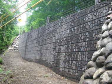 (一)白骨温泉線道路災害復旧 施工後