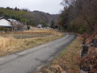 市道1089号線道路詳細設計 施工前