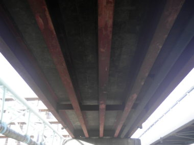 井川城橋補修設計 施工前