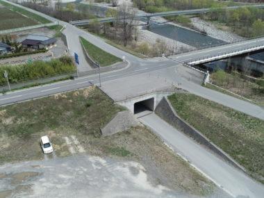 あづみの新橋新設に伴う箱型函渠工設計 施工後1
