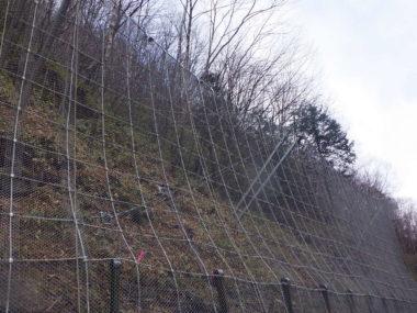 駒ヶ根駒ヶ岳公園線道路災害防除設計 施工後2