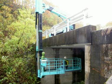 林道橋及びトンネル点検診断 点検診断1