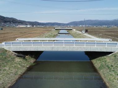 武井田鎮守前線橋詳細設計 施工後1