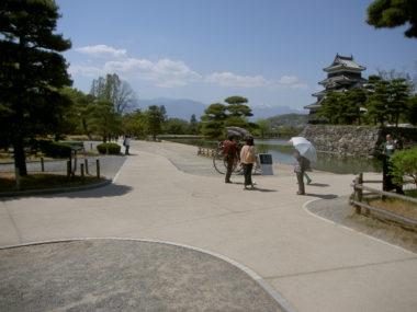 松本城園路改修設計 施工後