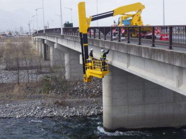 松本管内道路橋定期点検 倭橋