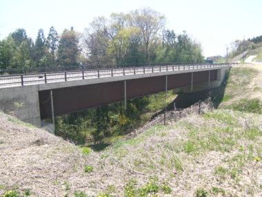 油沢橋詳細設計 施工後1