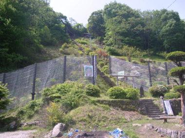 神宮寺急傾斜対策施設設計 施工後1