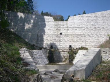 滝ノ入砂防えん堤設計 施工後2