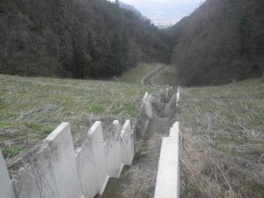 浅川ダム土捨場設計 施工後2