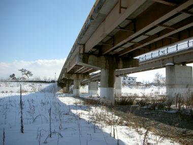穂高大橋補修設計 施工前
