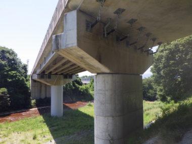 不動岩橋橋脚耐震補強設計 施工後