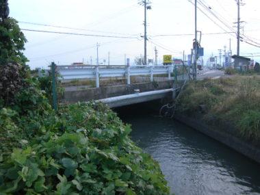 上水道水管橋詳細設計 施工前