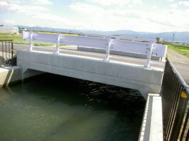 梓川106号橋改修に伴う箱型函渠工設計 施工後1