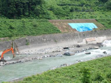 (一)姫川災害復旧設計 施工前