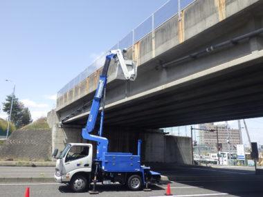 松本管内道路橋定期点検 吉田跨道橋