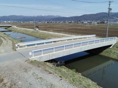 武井田鎮守前線橋詳細設計 施工後2