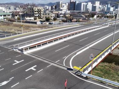 中条橋詳細設計(上下線分離・N=2橋) 施工後2