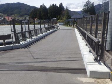 市道伊賀良505号橋詳細設計 施工後2