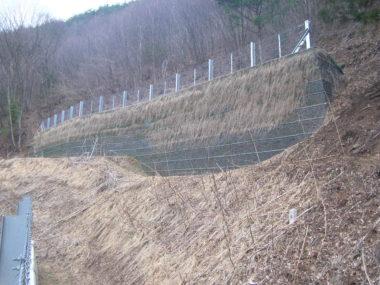 穴沢急傾斜対策施設設計 施工後2