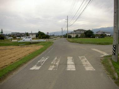市道7055号線道路詳細設計 施工前
