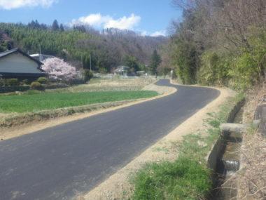 市道1089号線道路詳細設計 施工後