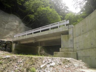 大島林道橋詳細設計 施工後2