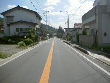 (主)伊那辰野(停)線歩道詳細設計 施工前
