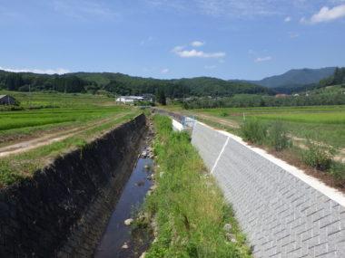 斑尾川・鳥居川護岸復旧設計 施工後